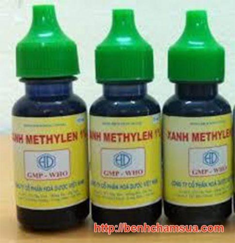 Xanhmetilyn được bán rất rộng rãi, có tác dụng sát khuẩn, làm khô các vết tổn thương, an toàn cho em bé