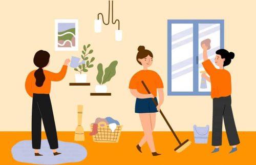 Cần giữ môi trường sống sạch sẽ cho trẻ khỏe mạnh
